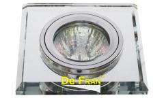 Светильник точечный_DE FRAN_ FT 848x1 MS MR16 зеркальный серебро