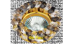 Светильник точечный_DE FRAN_ FT 860 MR16 золото+черный