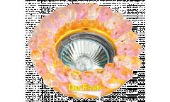 Светильник точечный_DE FRAN_ FT 860 MR16 хром+розовый
