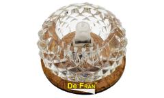 Светильник точечный_DE FRAN_ FT9283 BR G9 зеркальный чайный