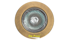 Светильник точечный_DE FRAN_ FT9210 MR16 античное золото