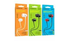 Наушники Borofone BM57 Platinum universal earphones with microphone Silver