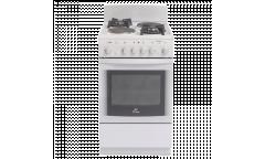 Комбинированная плита De luxe 506022.04гэ(щ) белая