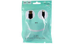 Кабель USB Hoco X13m Easy charged MicroUSB (черный)