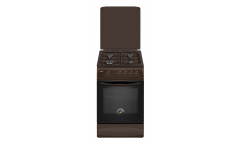 Плита газовая Kraft KF-FSK5403AGBR коричневый 87*63*50см эр автоподжиг