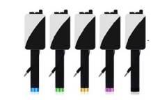 Монопод для селфи BlackEdition проводной + большое зеркало (черный)
