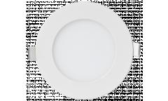 Панель светодиодная круглая ASD RLP-eco 3Вт 230В 4000К 210Лм 90/80мм белая IP40 IN HOME