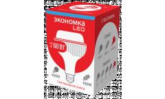 Лампа светодиодная ЭКО_Экономка _HW_60W/6500K_E27 _5130 лм _высокомощная