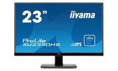 "Монитор Iiyama 23"" ProLite XU2390HS-B1 черный IPS LED 5ms 16:9 DVI HDMI M/M матовая 1000:1 250cd 178гр/178гр 1920x1080 D-Sub FHD 4кг"