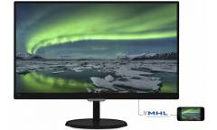 "Монитор Philips 23"" 237E7QDSB (00/01) черный IPS LED 16:9 DVI HDMI матовая 250cd 1920x1080 D-Sub FHD 3.21кг"