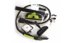 Пароочиститель напольный Kitfort КТ-903 2000Вт зеленый