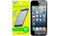 Защитное стекло Krutoff Group 0.26mm для iPhone 5/5S
