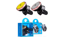 Автодержатель Hoco CA3 Outlet magnetic vehicle Holder (gray)