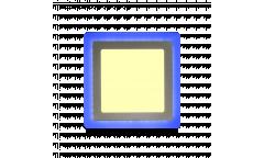 Встраиваемый (LED) светильник с подсветкой DLB-Square Smartbuy-13w/3000K+B/IP20 _квадрат