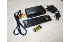 Тюнер T2 DiViSat Hobbit Unit GX + (YouTube, Gmail, IPTV, Megogo, погода, RSS чтение)  черный