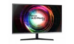 "Монитор Samsung 31.5"" U32H850UMI серебристый/черный VA LED 4ms 16:9 HDMI матовая HAS Pivot 3000:1 250cd 178гр/178гр 3840x2160 DisplayPort Ultra HD USB 8.8кг"