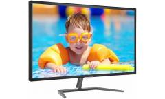 "Монитор Philips 31.5"" 323E7QDAB (00/01) черный IPS LED 16:9 DVI HDMI M/M полуматовая 250cd 1920x1080 D-Sub FHD 6.9кг"