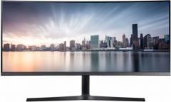 "Монитор Samsung 34"" C34H890WJI черный VA LED 21:9 HDMI матовая HAS 3000:1 300cd 178гр/178гр 3440x1440 DisplayPort WQHD USB 8.3кг"