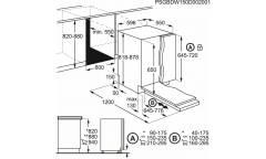 Посудомоечная машина Electrolux ESL95321LO 1950Вт полноразмерная