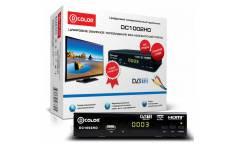 Ресивер DVB-T2 D-Color DC1002HD черный