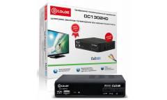 Ресивер DVB-T2 D-Color DC1302HD черный