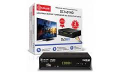 Ресивер DVB-T2 D-Color DC1401HD черный