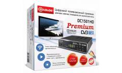 Ресивер DVB-T2 D-Color DC1501HD черный