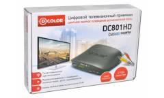 Ресивер DVB-T2 D-Color DC801HD черный
