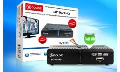 Ресивер DVB-T2 D-Color DC901HD черный