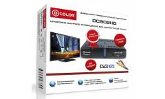 Ресивер DVB-T2 D-Color DC902HD черный