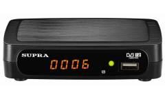 Ресивер DVB-T2 Supra SDT-84 черный