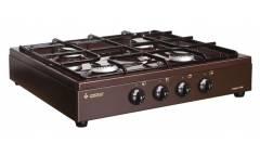 Плита Газовая Gefest ПГ 900 К17 коричневый (настольная) 4конфорки