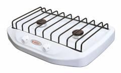 Плита Газовая Gefest 700-03 белый (настольная) 2 конфорки