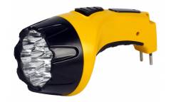 Фонарь SmartBuy аккумуляторый светодиодный 15 Led желтый