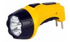 Фонарь SmartBuy аккумуляторый светодиодный 4 Led желтый