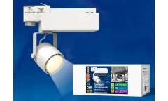 Прожектор светодиодный трековый Uniel ULB-M08H-35W/WW WHITE