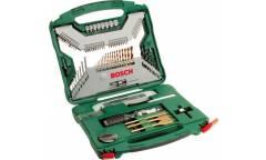 Набор принадлежностей Bosch X-Line-100 100 предметов (жесткий кейс)