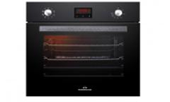 Духовой шкаф электрический RODMANS BOE 6605 BL черный 64л гриль конвекция 6режимов дисплей