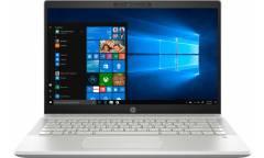 "Ноутбук HP Pavilion 14-ce0075ur Pentium 4417U/4Gb/SSD128Gb/Intel UHD Graphics 610/14""/TN/HD (1366x768)/Windows 10/silver/WiFi/BT/Cam"