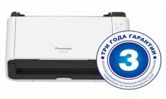 Сканер Panasonic KV-S1015C (KV-S1015C-X) A4 белый/черный