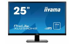 "Монитор Iiyama 25"" ProLite XU2590HS-B1 черный IPS LED 5ms 16:9 DVI HDMI M/M матовая 1000:1 250cd 178гр/178гр 1920x1080 D-Sub FHD 4.4кг"
