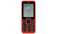 Мобильный телефон Maxvi C25 red