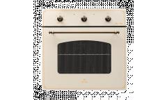 Духовой шкаф электрический De luxe 6006.03 эшв-037 бежевый  58л гриль 6режимов в*ш*г 600*595*595см