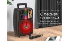 Беспроводная (bluetooth) акустика Hoco BS37 Dancer outdoor wireless speaker Black