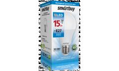 Светодиодная (LED) Лампа Smartbuy-A60-15W/6000/E27