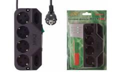 Сетевой фильтр Most СRG 5м (6 розеток) черный (коробка)