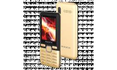 Мобильный телефон Maxvi M6 coffee-black