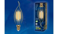 Лампа светодиодная Uniel LED-CW35-5W/GOLDEN/E14 GLV21GO