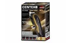 Машинка для стрижки Centek CT-2125 (чер/зол) профессиональная, керам ножи, работа от сети, шнур 2,4м