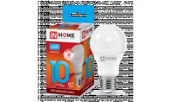 Лампа сд LED-A60-VC 10Вт 230В Е27 4000К 900Лм IN HOME